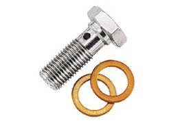 SINGLE BOLT M10x1.25 PACK OF 2 STAINLESS